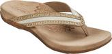 Aetrex Women's Kim Chop Out Thong Sandal