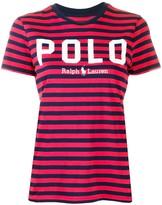 Polo Ralph Lauren striped logo T-shirt