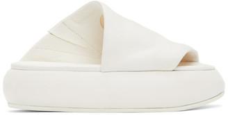 Marsèll White Ciambellona Sandals