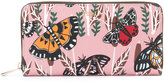 Furla butterfly print wallet - women - Calf Leather - One Size