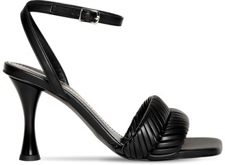 Proenza Schouler 90MM FAUX LEATHER SANDALS
