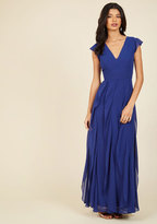 Exquisite Epilogue Maxi Dress in Sapphire in XS