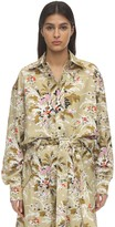 Colville Floral Print Cotton Shirt