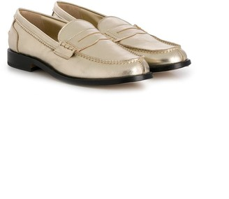 Gallucci Kids TEEN penny loafers