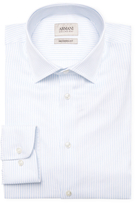 Armani Collezioni Striped Modern Fit Dress Shirt