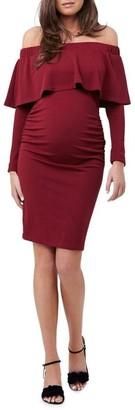 Ripe Soiree Off Shoulder Dress LS