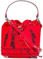 Moschino trompe-l'oeil backpack