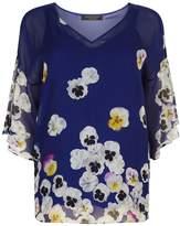 Marina Rinaldi Floral Print Blouse