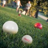 Trademark Global, Inc. Coca Cola Bocce Ball Set - Regulation Size