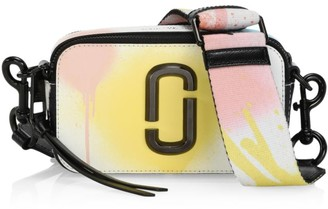 Marc Jacobs The Snapshot Spray Paint Coated Leather Camera Bag
