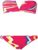 Missoni river zig-zag pattern bikini