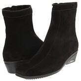 La Canadienne Elizabeth (Black Suede) Women's Zip Boots