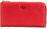 Dolce & Gabbana zipped Dauphine wallet - women - Calf Leather - One Size