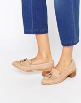 Carvela Kalm Tassle Suede Mid Heeled Shoes