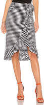 Lovers + Friends x REVOLVE Suffolk Skirt in Black & White. - size L (also in M,S,XS,XXS)