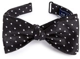 The Tie Bar Men's Dot Silk & Linen Bow Tie