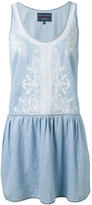 Ermanno Scervino paisley embroidery flared dress - women - Cotton - 42