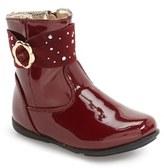 Laura Ashley Toddler Girl's Flower Buckle Boot