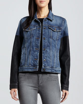 Joe's Jeans Nyla Two-Tone Denim Jacket