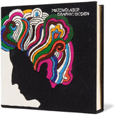 Olympia Le-Tan Milton Glaser Appliquéd Cotton-faille Clutch - Black
