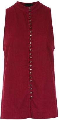 Olympiah buttoned Romenia blouse