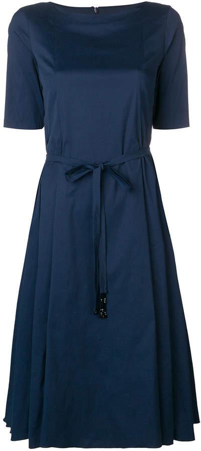 Max Mara 'S belted flared dress