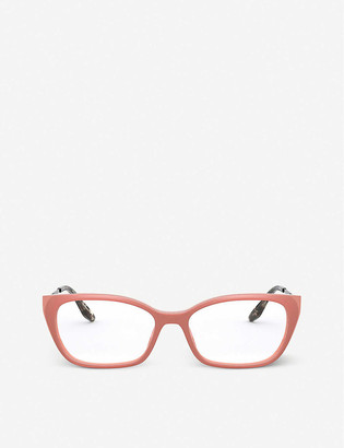 Prada PR 14XV rectangular acetate eyeglasses