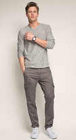 Esprit OUTLET twill cargo twill cargo pant