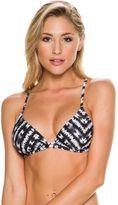Rusty Shibori Tri Reversible Bikini Top