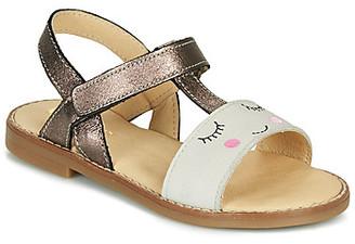 GBB NAZETTE girls's Sandals in Beige