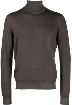 Tagliatore wool roll neck jumper