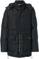MSGM padded hooded coat