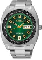 Seiko Recraft Men's 44mm Automatic Green Dial Watch in Stainless Steel