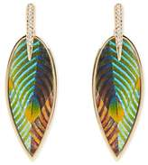 Vince Camuto Feather Earrings