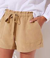 LOFT Petite Safari Shorts