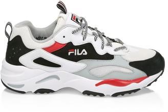 Fila Ray Tracer Mixed-Media Sneakers