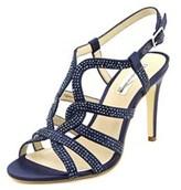 INC International Concepts Randii Open Toe Canvas Sandals.