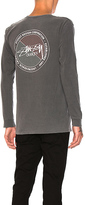 Stussy Halftone Dot Tee in Charcoal. - size S (also in )