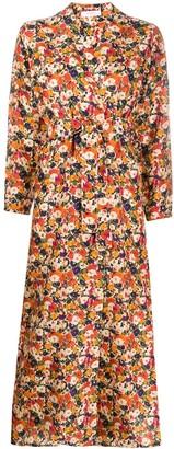 Roseanna floral-print silk dress