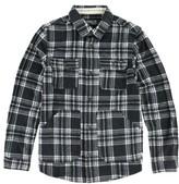 O'Neill Boy's 'Glacier' Check Long Sleeve Fleece Shirt