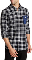 Wesc Gazak Plaid Long Sleeve Relaxed Fit Shirt