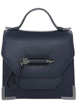 Mackage Rubie Leather Crossbody Bag In Ink