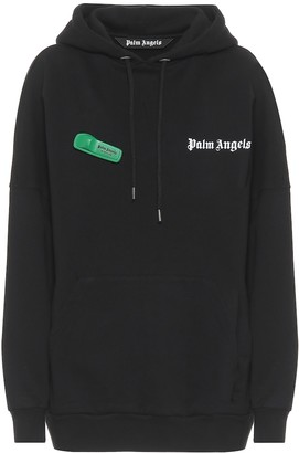 Palm Angels Logo cotton hoodie