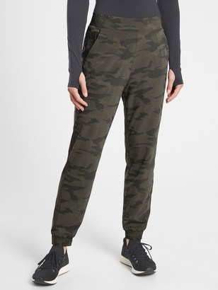 Athleta Brooklyn Camo Lined Jogger