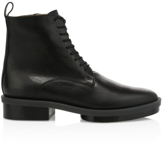 Clergerie Radio Leather Combat Boots