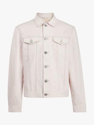 AllSaints Jalna Denim Jacket, Overdye Pink