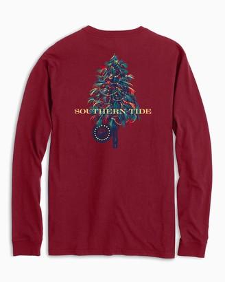 Southern Tide Fishing Fly Tree Long Sleeve T-Shirt