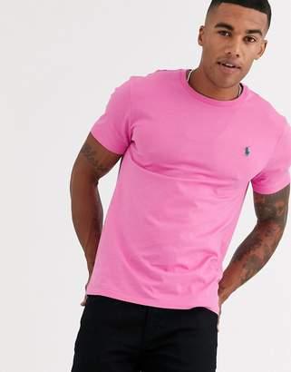 Polo Ralph Lauren player logo t-shirt in bright pink