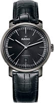 Rado R14074175 Diamaster ceramic and leather watch