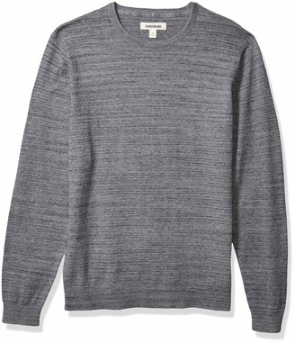 Goodthreads Amazon Brand Men's Soft Cotton Crewneck Summer Sweater